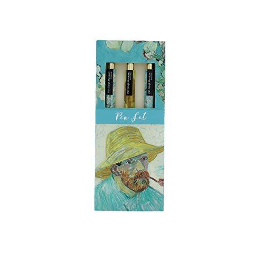 Van Gogh Pen Set | regalo para ella | bolígrafos para mujer | bolígrafo | regalos de cumpleaños para mujeres | oficina papelería | bolígrafos tinta negra | regalos para mujeres