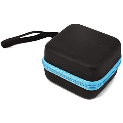 BigBig Style Sac de transport pour huiles essentielles 5 ml Bouteille durable étanche Boîte de rangement antichoc avec 7 pièces