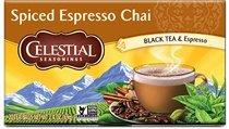 Celestial Seasonings Spiced Espresso Chai Tea, Single Box