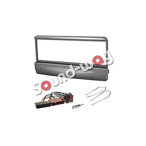 Sound-way 1 DIN Radiopaneel Autoradio, Antenne Adapter, ISO Aansluitkabel, Demontage Sleutels, ondersteuning voor Ford Focus, Fiesta, Mondeo, Escort, Transit