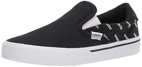 adidas Kurin Skate Shoe, Black/White/Black, 8
