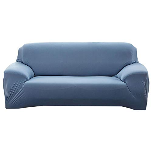 HXTSWGS Fundas Cojines de Sofa,Fundas de sofá, Funda desofáelástica Estirable, Funda de Asiento de sofá, Protector de sofá, Funda Protectora de Muebles-Azul Claro_190-230cm