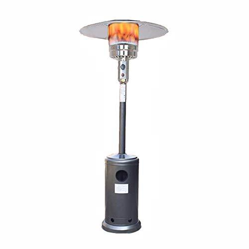 Calefacción Jardín Calefactor de Terraza Móvil Control de temperatura de varias velocidades Lámpara calentadora Para Casa 1300WFENGNV1029(Color: Silver,Size:LNG)
