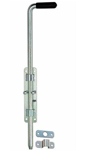 Türriegel Torriegel Bolzenriegel Riegelverschluss 420/14 mm Verzinkt