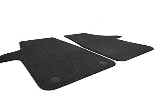 kh Teile Fußmatten Vito V-Klasse W447 Original Qualität Velours Automatten 2-teilig Vorne Schwarz