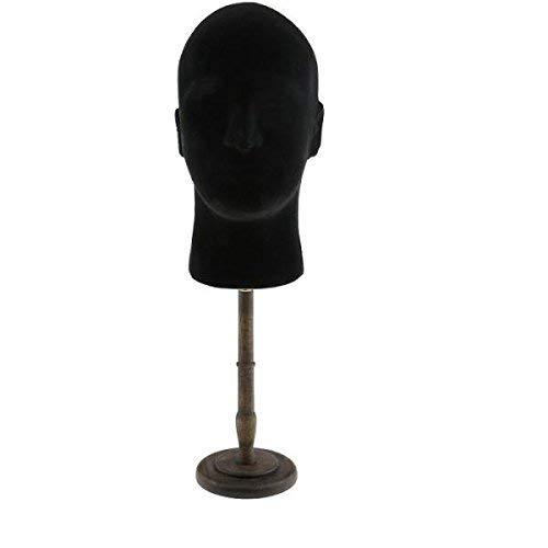 Backbayia Display Ständer für Hüte, Schaumstoff, für Perücken, Hut mit Basishalterung
