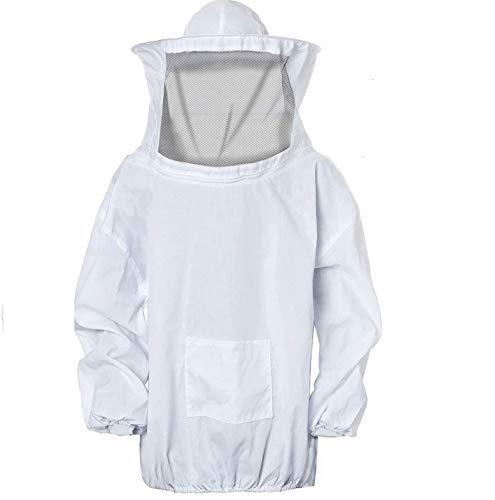 Enzege Biene Jacke Imker Anzug Unisex Bienenzucht Schutz Kleidung Kostüm Jacke