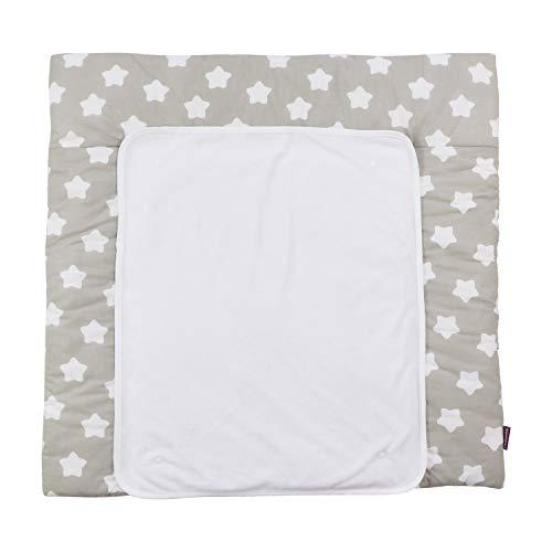 PuckDaddy «Estrella gris» Cambiador de colchón de doble cara