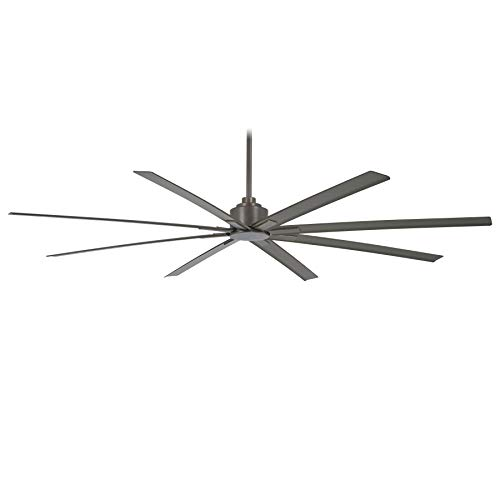 Minka-Aire F896-84-SI Xtreme H2O 84 Inch Outdoor Ceiling Fan with DC Motor in Smoked Iron...