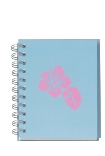 YOUNG GENERATION YP 232007 A6 WIRE-O-BOOK Notizbuch mit PP-Cover DIN A6 holzfreies Papier kariert und perforiert Hawaii blue