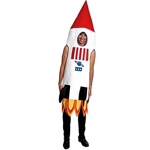 Disfraz Cohete Adulto Carnaval Profesiones (Talla S) (+ Tallas)