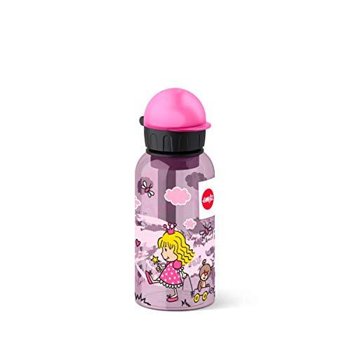 Emsa Kinder-Trinkflasche, 400 ml, Sicherheitsverschluss, Kids Princess, Tritan, 518122