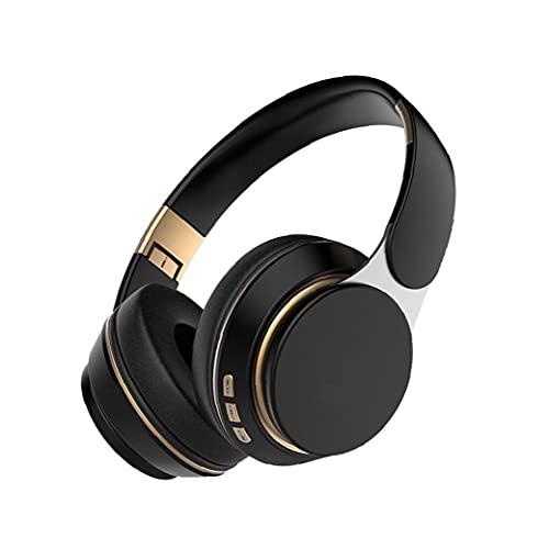 Auriculares inalámbricos sobre oído Auriculares estéreo Bluetooth Hi-Fi Estéreo Cómodo de ruido...