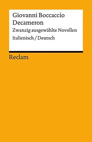 Decameron: Zwanzig ausgewählte Novellen. Italienisch/Deutsch (Reclams Universal-Bibliothek)