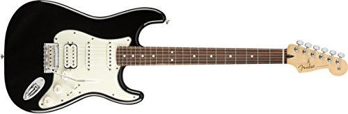 Fender Guitarra eléctrica Player Stratocaster HSS - Diapasón Paul Ferro - Negro