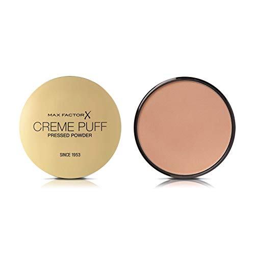 Max Factor Creme Puff Pressed Compact Poeder, 21g - #41 Medium Beige