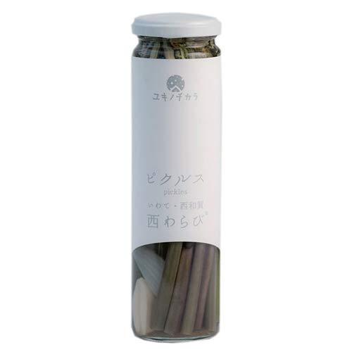 ユキノチカラ西わらびのピクルス 120g×3瓶 西和賀産業公社 洋風ピクルス ヘルシー おつまみ