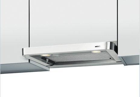 WESCO: Einbauhaube EVM 207-55 (550mm) Edelstahl