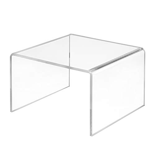 Dekobrücke aus Acrylglas in 150x100x150mm - Zeigis® / Warenträger/U-Ständer/Acrylständer/Warenpräsentation/Dekoständer/Dekoaufsteller