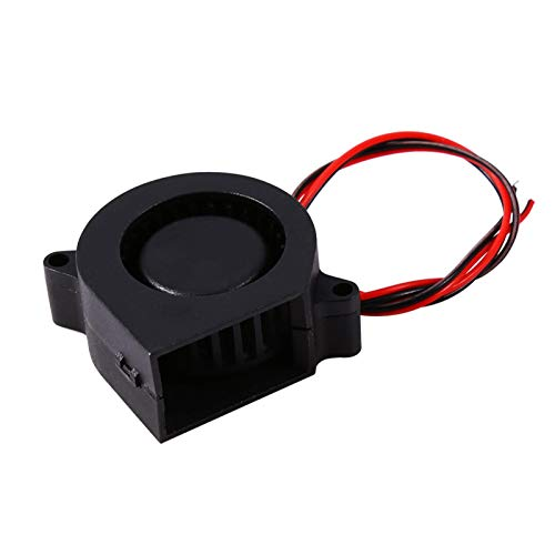 Ventilador de Impresora 3D, 1pc 12V DC Ventilador de Aire de refrigeración Accesorios de Impresora para impresión 3D Extrusora Hotend Soplador de Aire-Ventilador de enfriamiento sin escobillas