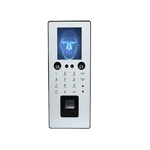 Zeitmaschine Fingerabdruck-Zugriffskontrolle mit 1000 Gesichtserkennung Zeiterfassung und Zutrittskontrolle Maschine mit Tastatur ZDF1 Für Büro, Schule