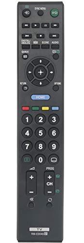 VINABTY RM-ED046 Fernbedienung für Sony KDL-40NX520 KDL-40BX420 KDL-37BX420 KDL-32NX520 KDL-32BX420 KDL-32BX321 KDL-32BX320 KDL-26BX321 KDL-26BX320 KDL-42EX410 KDL-32EX310 KDL-22EX310 KDL-22CX32D TV