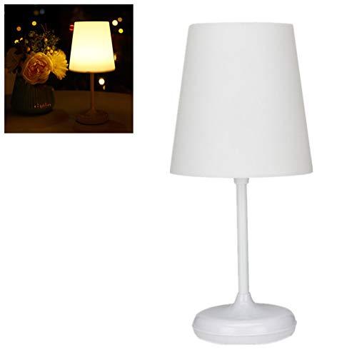 WWWL Lámpara Escritorio 10 Ajuste de Brillo Táctil o Control Remoto Encendido/Apagado LED Lámpara de Noche USB de Carga Dormitorio Luz Nocturna Decoración del hogar