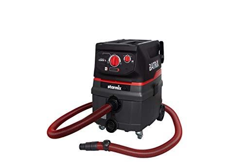 Starmix ISC BATRIX L 36-18V - Akku-Nass- und Trockensauger Staubsauger - kabelloser Sauger für den Baustelleneinsatz (25 Liter)