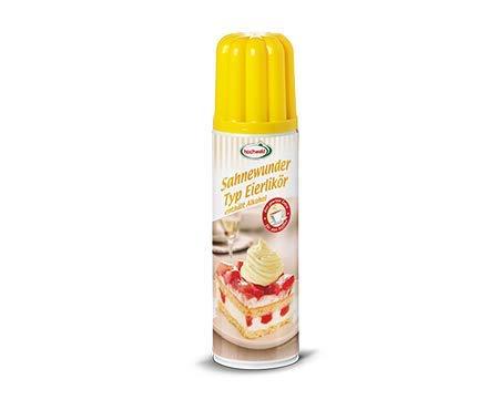 Crema licor tipo huevo (contiene alcohol), 250 ml