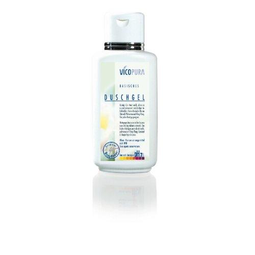 VICOPURA Duschgel, basisch pH 7, 4, basische Reinigung für den Körper, ohne Konservierungsmittel, 500 ml