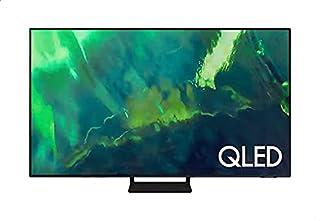 تلفزيون سامسونج الذكي مقاس 85 بوصة 4 كيه الترا اتش دي عالي الوضوح مع ريسيفرمدمج داخلي، اسود - موديل QA85Q70AAUXEG