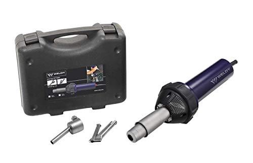 Hot Blast Torch Overlap Air Welding Gun Welder Pistol Tool Hot Air Gun 1600W (120 Voltage and speed nozzle)