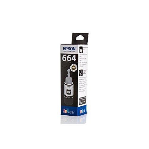 Original Epson C13T664140 / T6641, für EcoTank ET-2650 Premium Drucker-Patrone, Schwarz