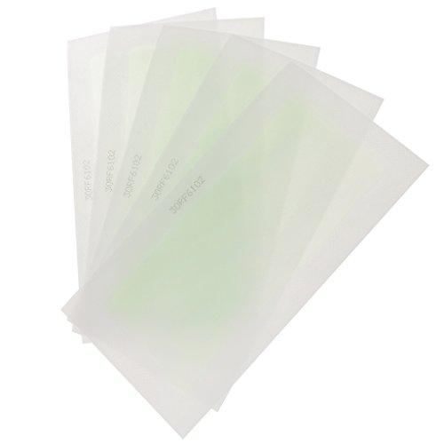 MagiDeal 10 Pièces Double Côté Bandes de Cire Froide Epilatoire Epilation de Poils Pour Peaux Faciales Pour Visage Corps Jambe