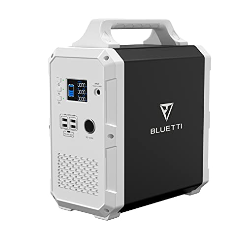 BLUETTI Portable Power Station 1200Wh/1000W, EB120 Solar Generator Backup Battery with 2x110V Pure Sine Wave AC Outlets, 1 x 45W PD, 4 x USB-A, Backup Power for Outdoor Camping Fishing Home Emergency