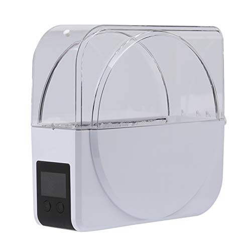 ZOBOLA Dry Box For 3D Filament Storages With LCD Display Timer Function Dehydrator Of Filament Dryer Box Compatible With 1.75mm 2.85mm Filament (Color : Transparent, Size : 1 kg)