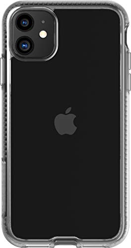 Tech21 Pure Clear Schutzhülle für iPhone 11 - Schützende Dünne Schale Beständig Handyhülle - Transparent