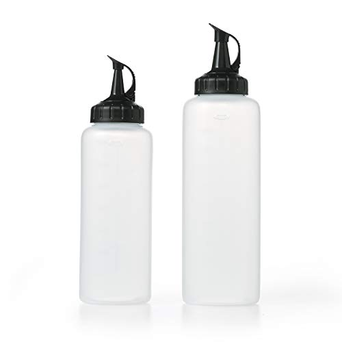 OXO Squeeze bottle, Set, TRANSLUCENT