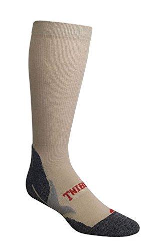 Thibet Wandersocken Hiking Socks anatomisch geformt, Farben alle:beige, Größe:44-47