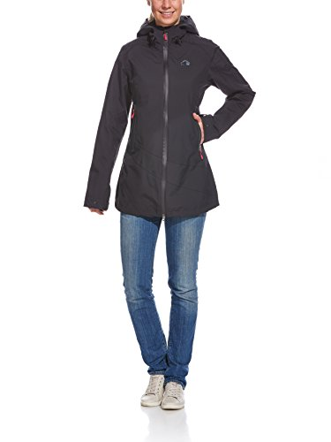 Tatonka Damen Mantel Firrel Womens Coat, Black, 38