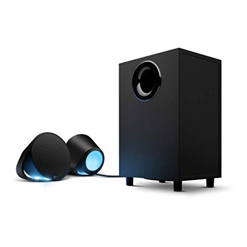 Logitech G560 LIGHTSYNC PC Gaming Speakers with Game Driven RGB Lighting (Renewed)