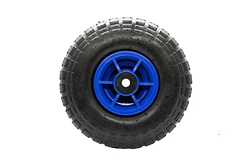 Shepherd Hardware Vibrant Blue Series 8681E - Patrón de banda de rodadura de dientes de sierra de goma, 2 unidades