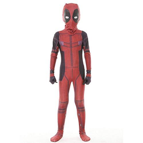 Cosplay Ropa Niños Deadpool Avengers Disfraces De Anime Cosplay Juego Completo De Ropa Medias Halloween Cosplay Regalo Perfecto