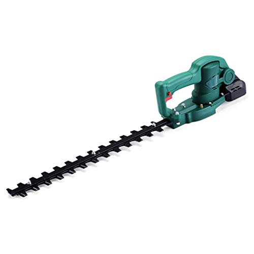 ZXMDP 24-Volt Hedge Trimmer Cordless Grass Shear, 1500-RPM Rechargeable On-Board Lithium-Ion Battery and Charger Included, Shrubber Handheld Trimmer