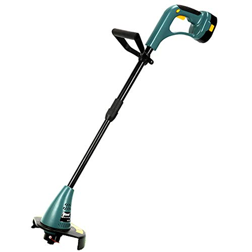 REWD Electric Grass Trimmer Lawn Hand-held Cordless Grass Trimmer with Double Switch, Lawn Edger 23cm Cutting Diameter, Telescopic Lawn Mower Grass Cutters