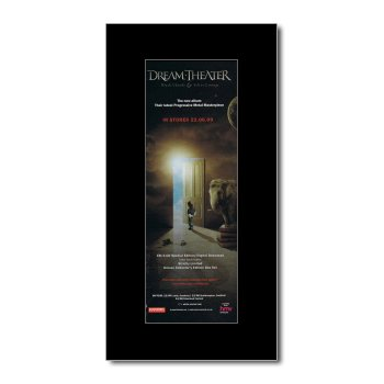 DREAM THEATER - Black Clouds & Silver Linings Matted Mini Poster - 28.5x10cm