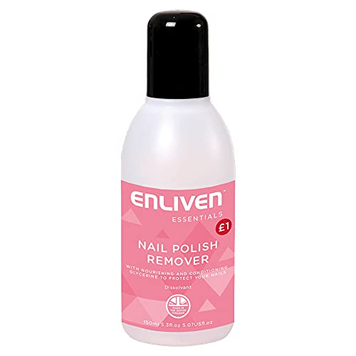 Enliven Pink Nail Polish Remover PMP GBP1 150 ml