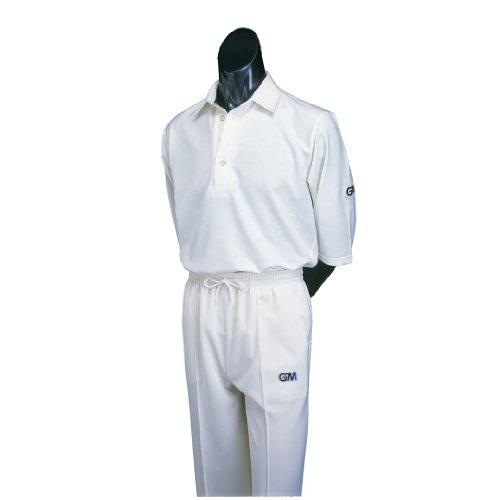 GM Gunn & Moore Cricket-Jungenhose 122 gebrochenes weiß - Creme (hell)
