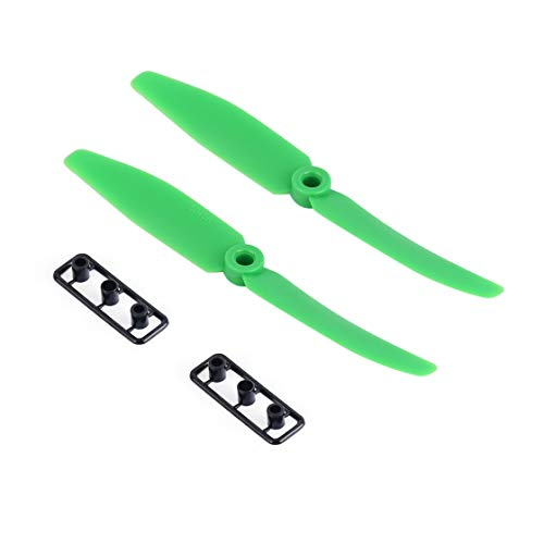 VZER0528 2 Pairs 5.0x4.0 5040 propellers ABS Accessories CW CCW Rotation for QAV Multirotor Green Sale NO 1