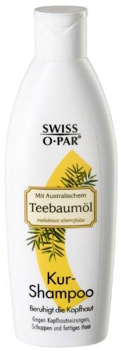 Swiss-o-Par theeboomolie korte shampoo, verpakking van 3 (3 x 250 ml)